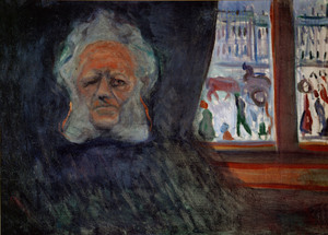 [The Wild Duck by Henrik Ibsen] Henrik Ibsen, 1898, by Edvard Munch. The Munch Museum/The Munch-Ellingsen Group/Artists Rights Society (ARS), NY.
