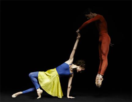 [American Ballet Theatre] Christine Shevchenko and Joseph Gorak of the American Ballet Theatre, in Duets. Photo by Fabrizio Ferri.