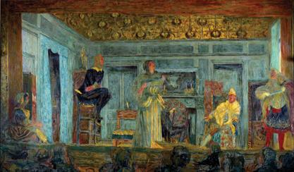 [The Imaginary Invalid by Molière] Le malade imaginaire, Edouard Vuillard, 1900. Scala/White Images/Art Resource, NY