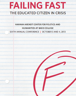 Failing Fast: The Educated Citizen in Crisis