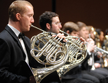 [Conservatory Sundays:Conservatory Orchestra] Photo by Karl Rabe