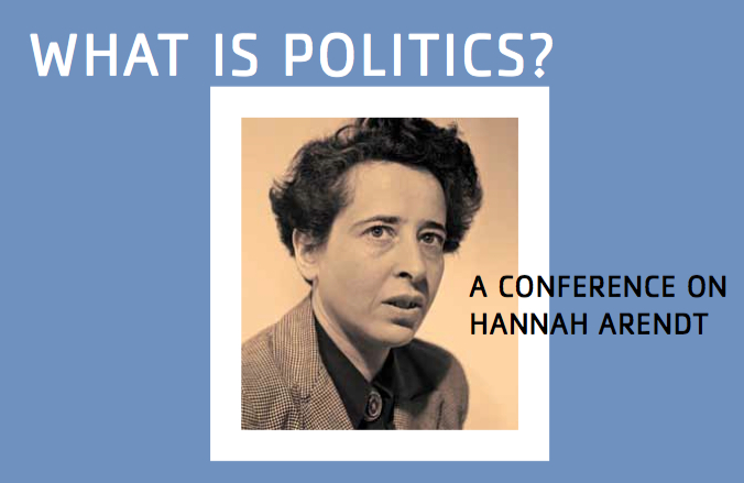 What is Politics? A Conference on Hannah Arendt at Villa Aurora