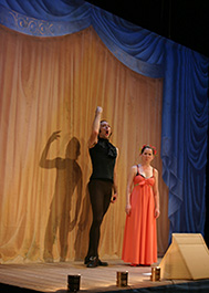 [Romeo & Juliet] Anne Gridley and Robert M. Johanson Photo by Peter Nigrini