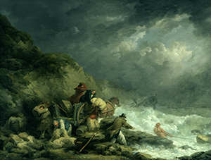 [The Wreckers] The Wreckers George Morland (1790)