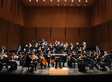 [Bard College Conservatory Orchestra] Photo: Karl Rabe