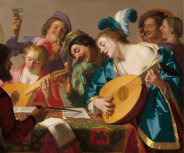 [Program SevenReinventing the Past] The Concert, Gerard van Honthorst