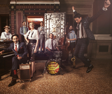 [The Hot Sardines] Photo by LeAnn Mueller