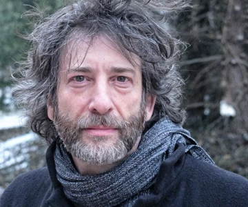 [Neil Gaiman and American Gods] Neil Gaiman, photo by Kyle Cassidy