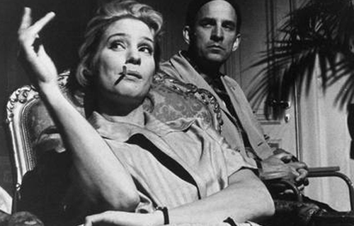 [Chopin and the Image of Romanticism] Ingmar Bergman and Ingrid Thulin, 1963; Swedish Film Industry press photo, photographer unknown