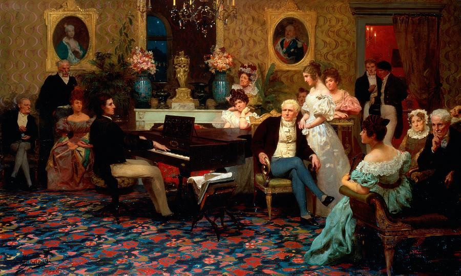 [Program ElevenChopin's Influence] Chopin concert, Henryk Siemiradzki, 1887