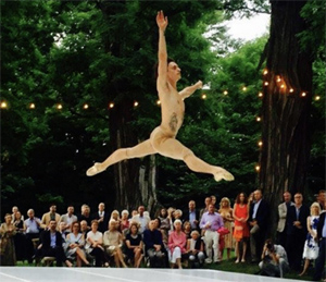 [SummerScape Gala 2017:A Summer Celebration at Montgomery Place] Sergei Polunin, SummerScape Gala 2016, photo by Bibhu Mohapatra
