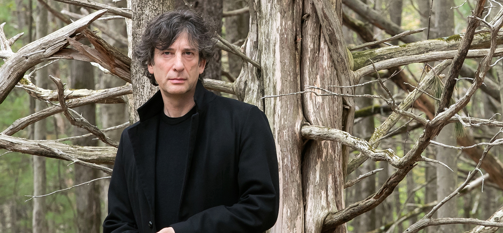 [An Evening with Neil Gaiman and John Cameron Mitchell] Photo by Beowulf Sheehan