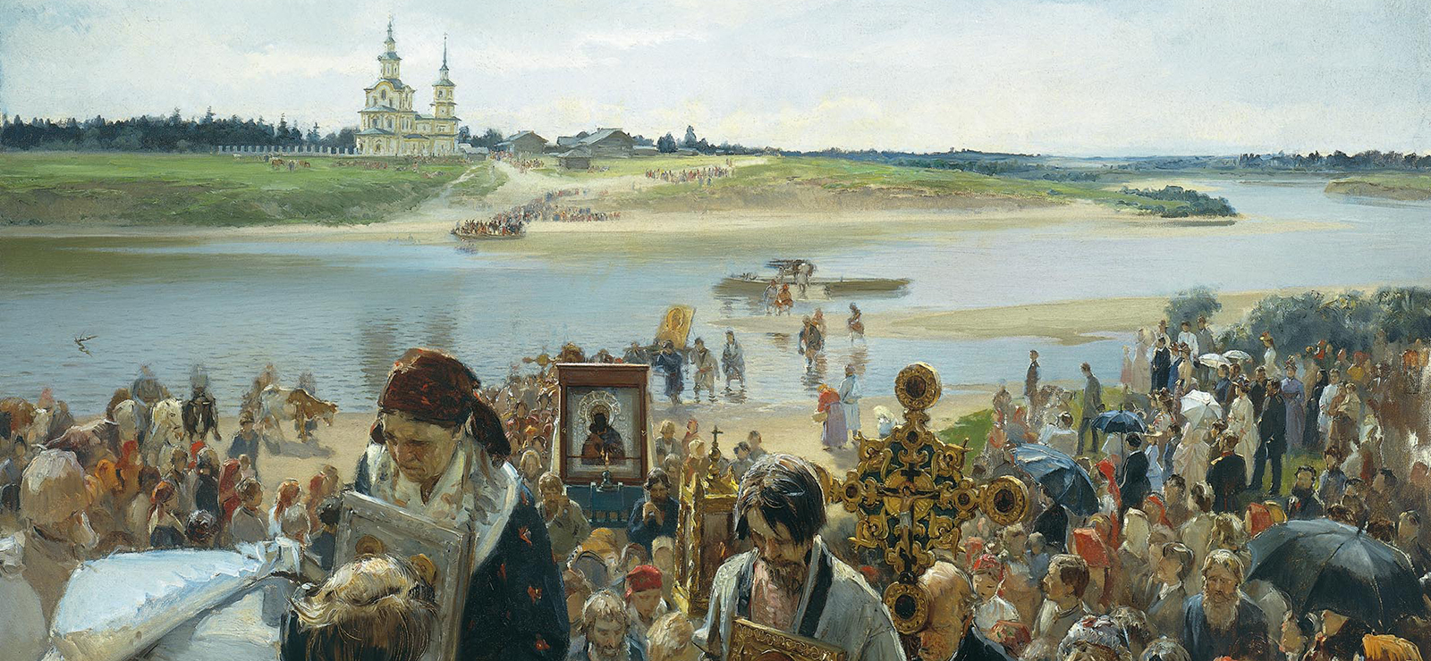 "[Program One: Fashioning the Russian Sound] ""Easter Procession"" by Illarion Pryanishnikov; Wikimedia Commons"