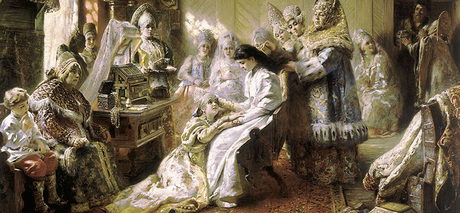 [Program Twelve: The Tsar's Bride] The Russian Bride (1884) by Konstantin Makovsky