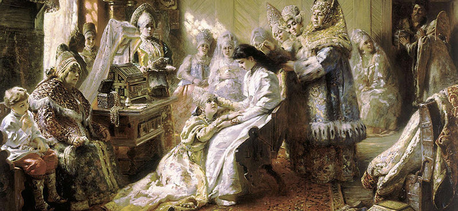 [Program Twelve:The Tsar's Bride] The Russian Bride (1884) by Konstantin Makovsky