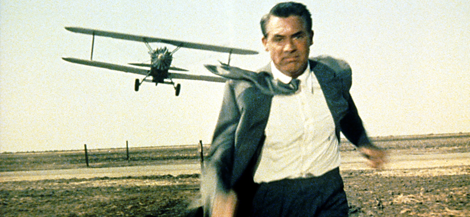 [Outdoor Film ScreeningAlfred Hitchcock's North by Northwest] Cary Grant in North by Northwest (1959); MGM/Photofest