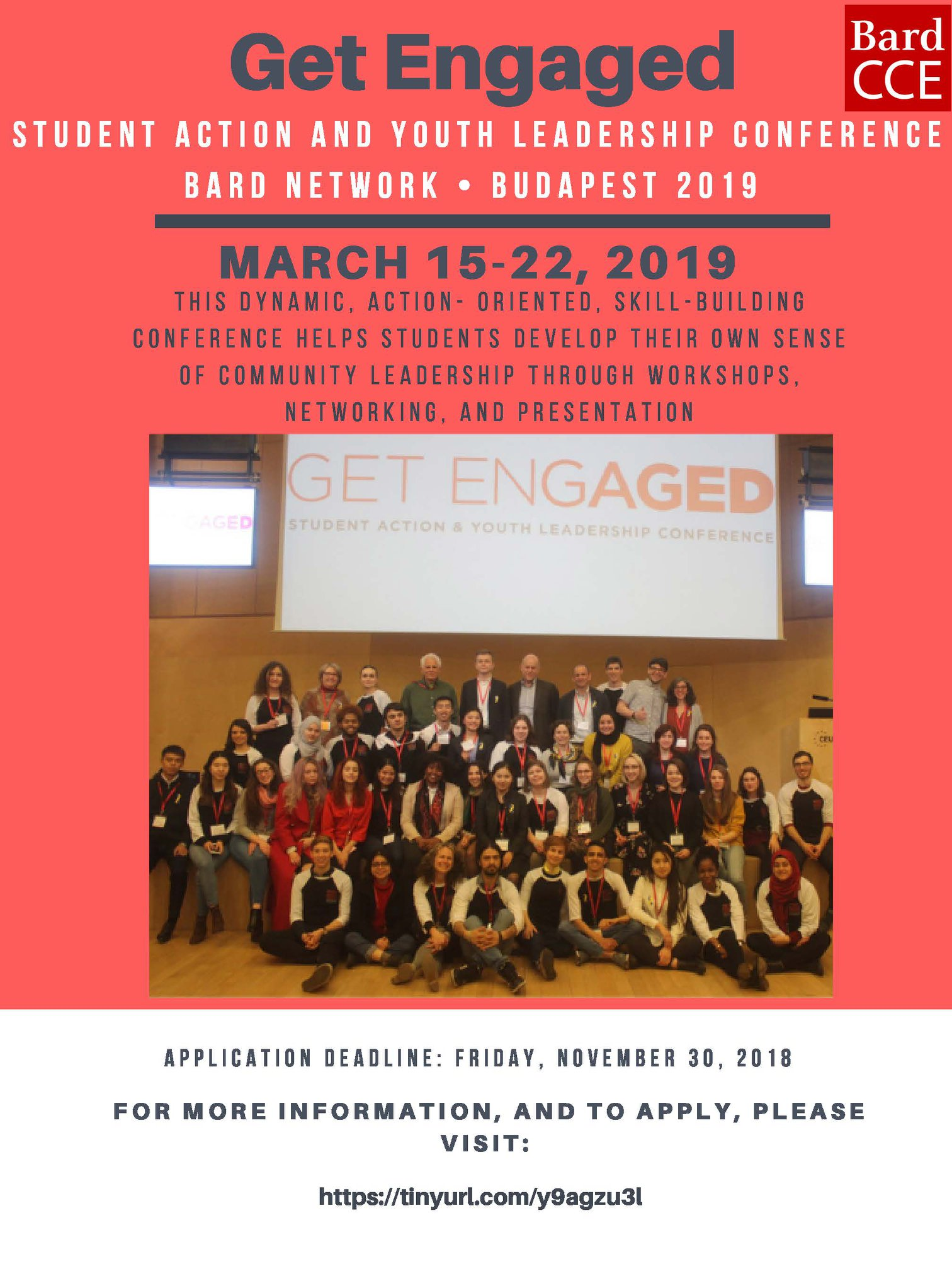 [Get Engaged 2019: Student Action and Youth Leadership Conference]