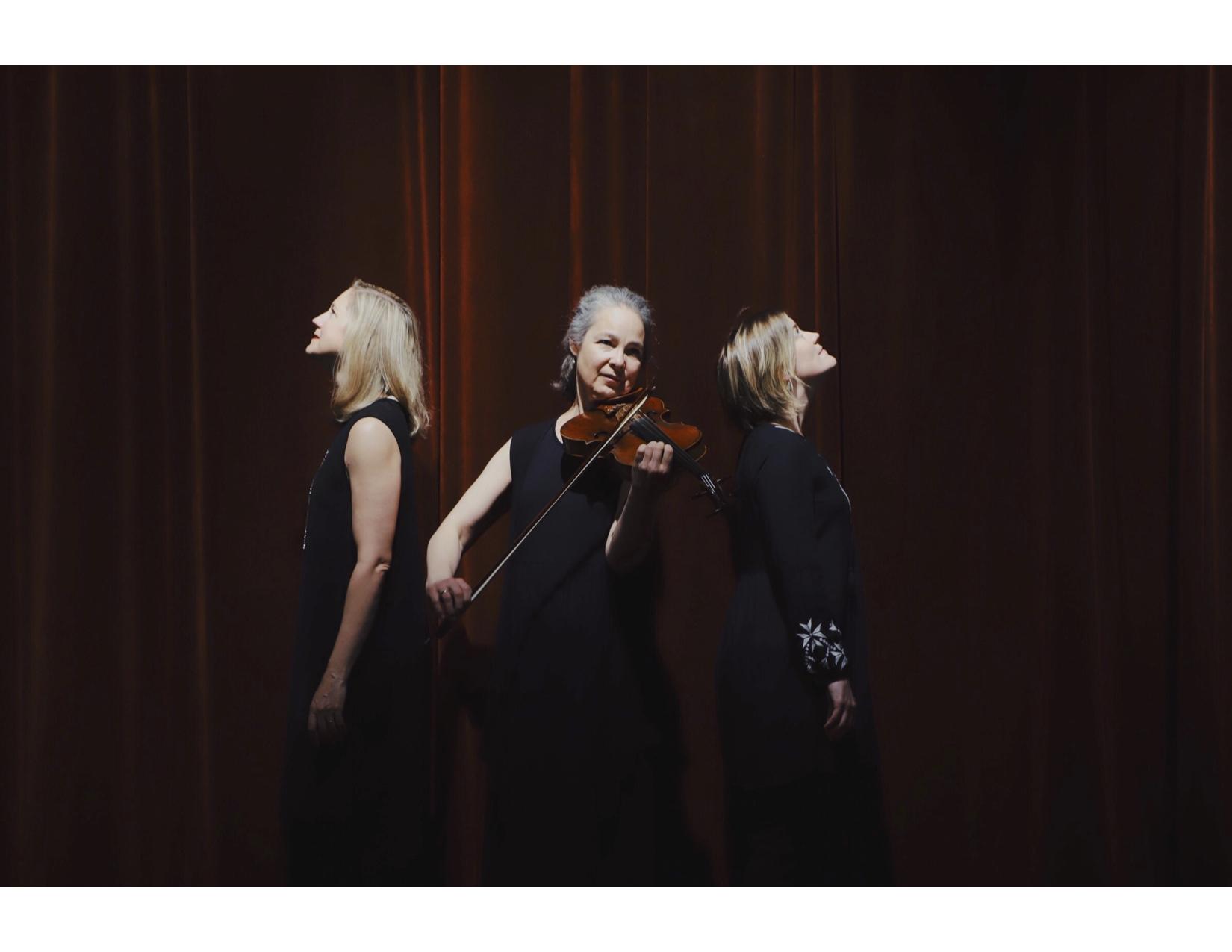 The Blithewood Ensemble: Teresa Buchholz, voice, Erika Switzer, piano, and Marka Gustavsson, viola