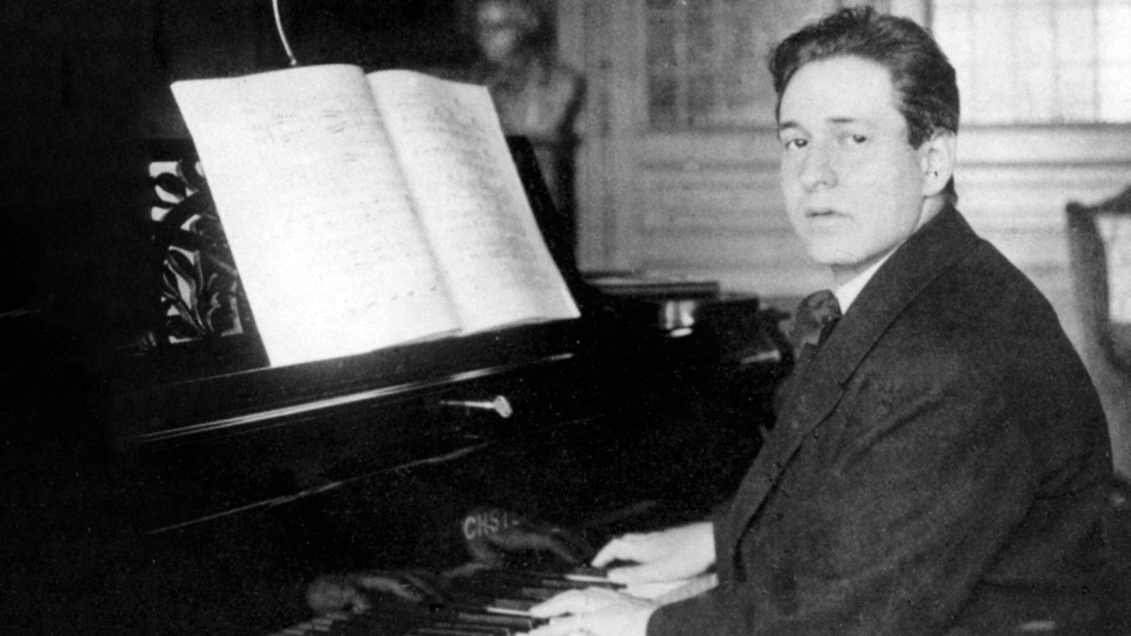 [Program Three: The Orchestral Imagination] Eric Wolfgang Korngold, c. 1920; The Tully Potter Collection