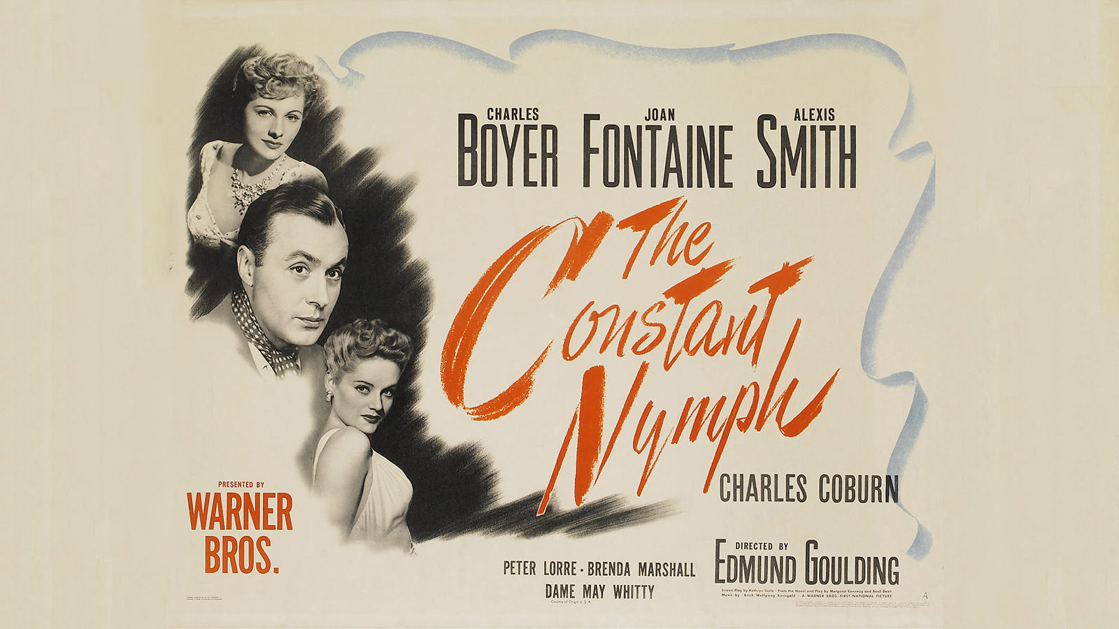 [Special Showing] The Constant Nymph poster, 1943; ©Warner Brothers/Photofest.