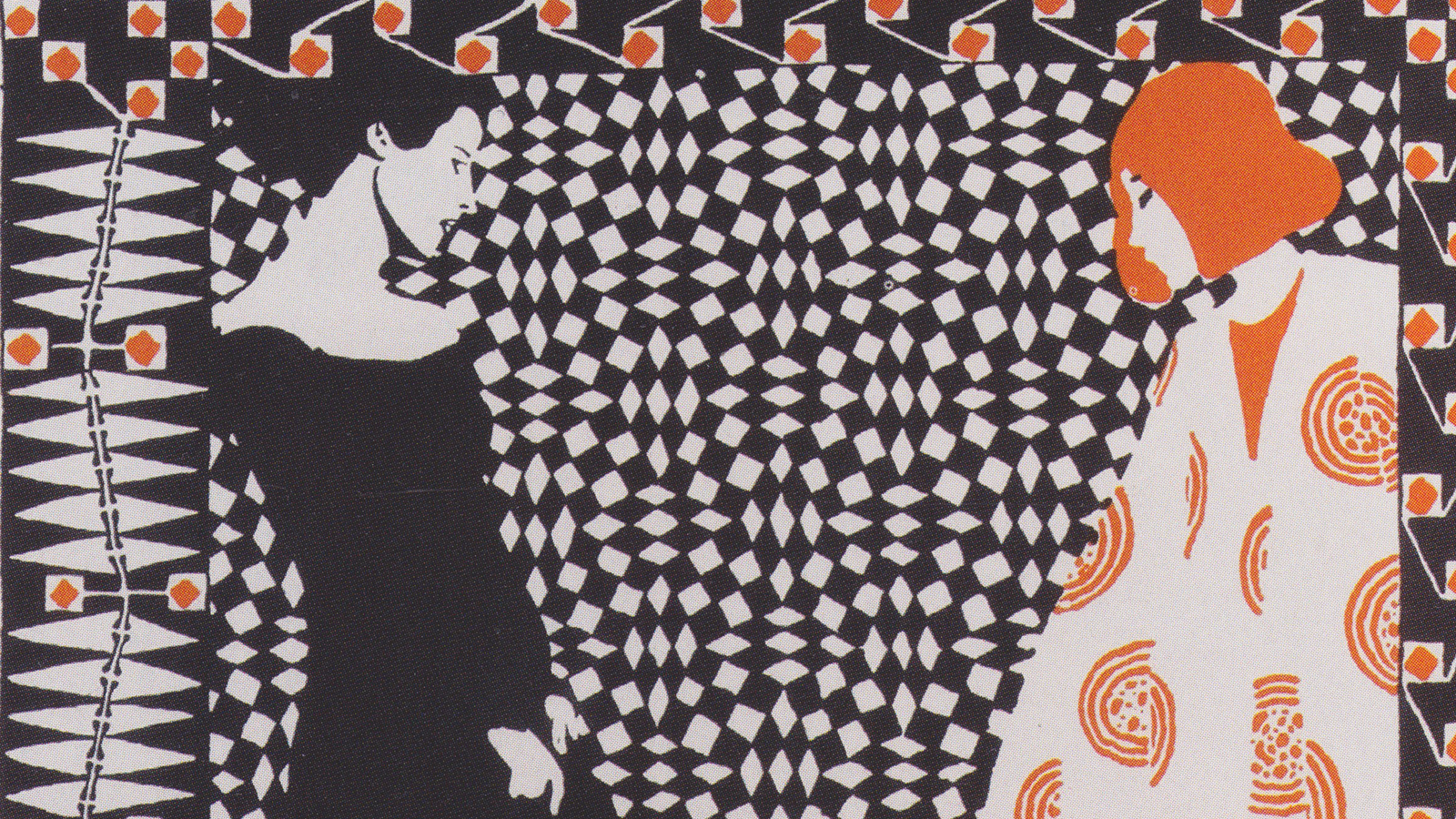 "[Program Nine: Sustaining the Beautiful: Art during and after the Catastrophe] ""Vorfrühling: Illustration zum gleichnamigen Gedicht 'Vorfrühling' von Rainer Maria Rilke,"" by Koloman Moser, 1901; IMAGNO/Austrian Archives"