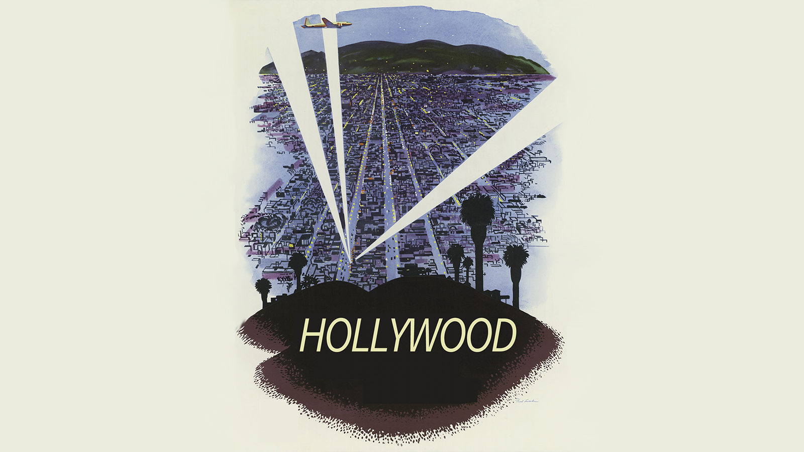 [Program Eleven: Hollywood Babylon: No Escape] Vintage Hollywood poster by Circe Denyer; Creative Commons