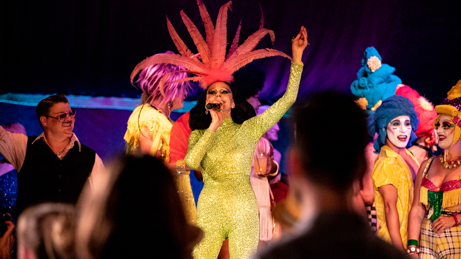 [Susanne Bartsch presentsSpiegeltent Follies] Photo by Maria Baranova