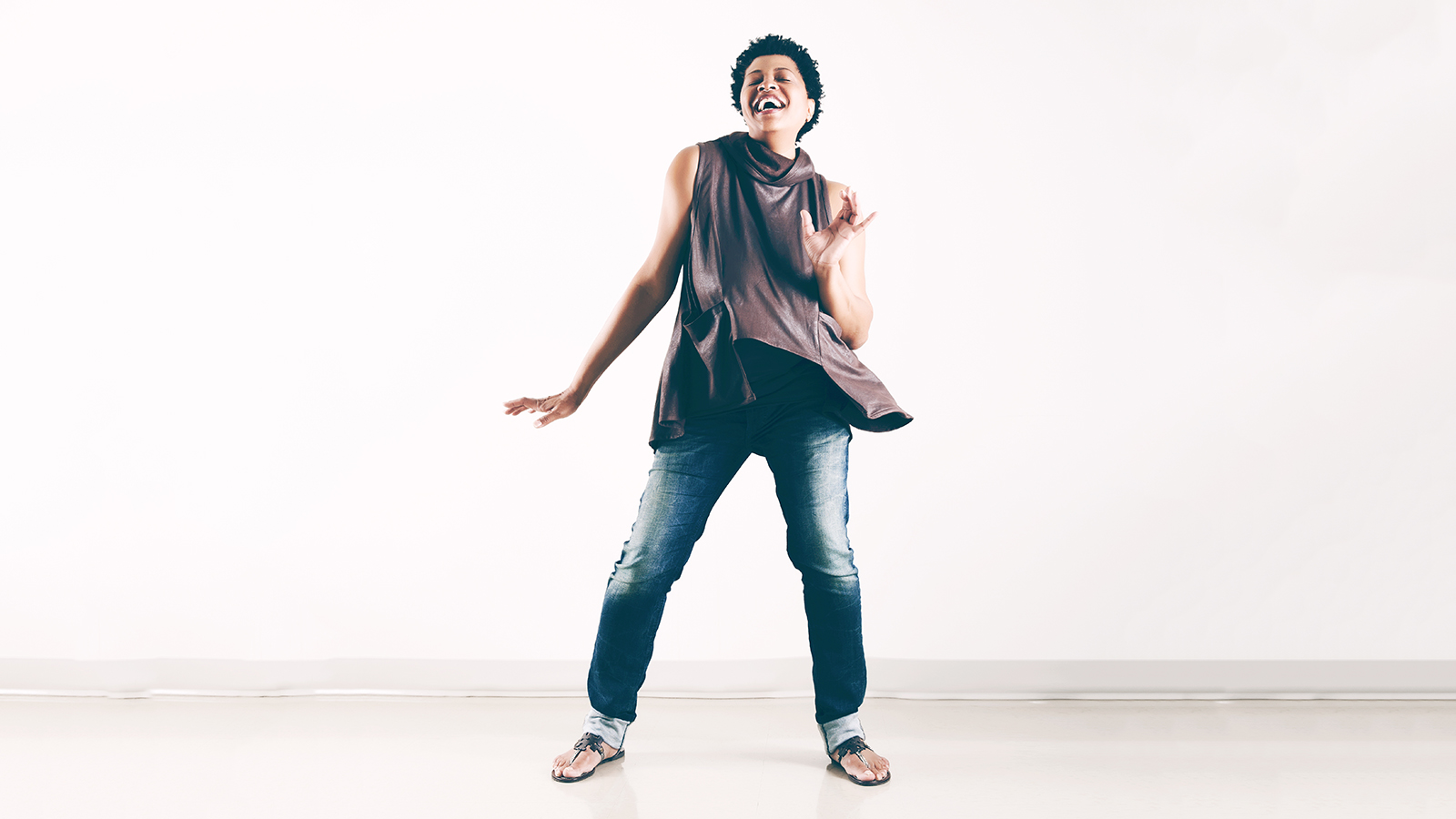 [Lisa Fischer: Badass and Beautiful with Taylor Eigsti on piano] Photo by Djeneba Aduayom