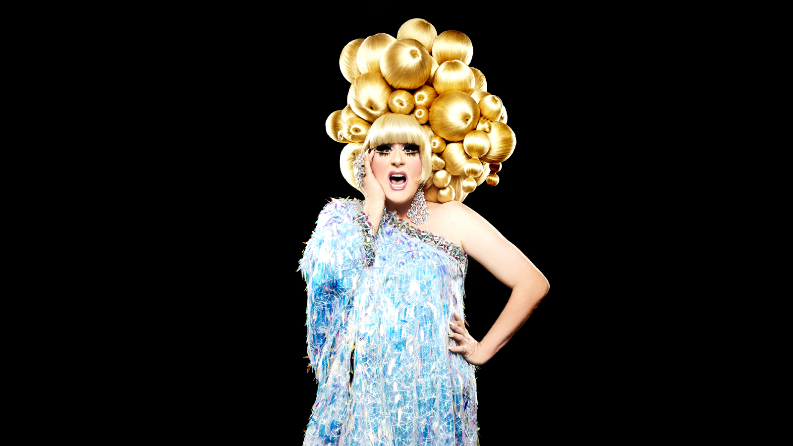 [Lady Bunny: Pig in a Wig] Photo by Steven Melendez