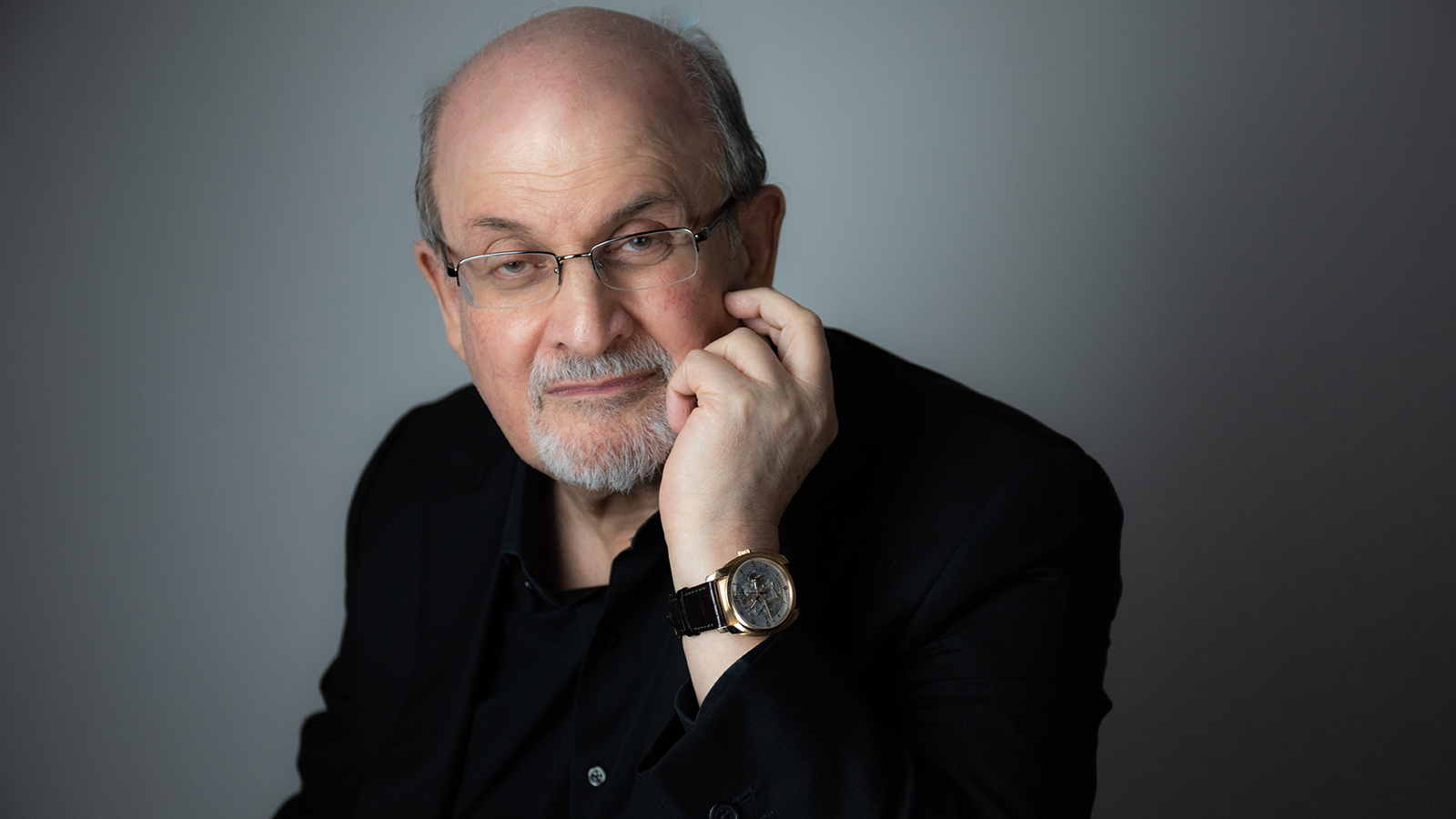 [Salman Rushdie] Photo by Rachel Eliza Griffith