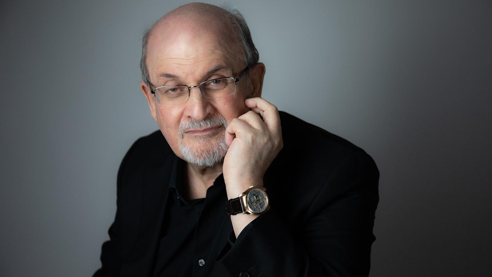 [Salman Rushdie] Photo by Rachel Eliza Griffith