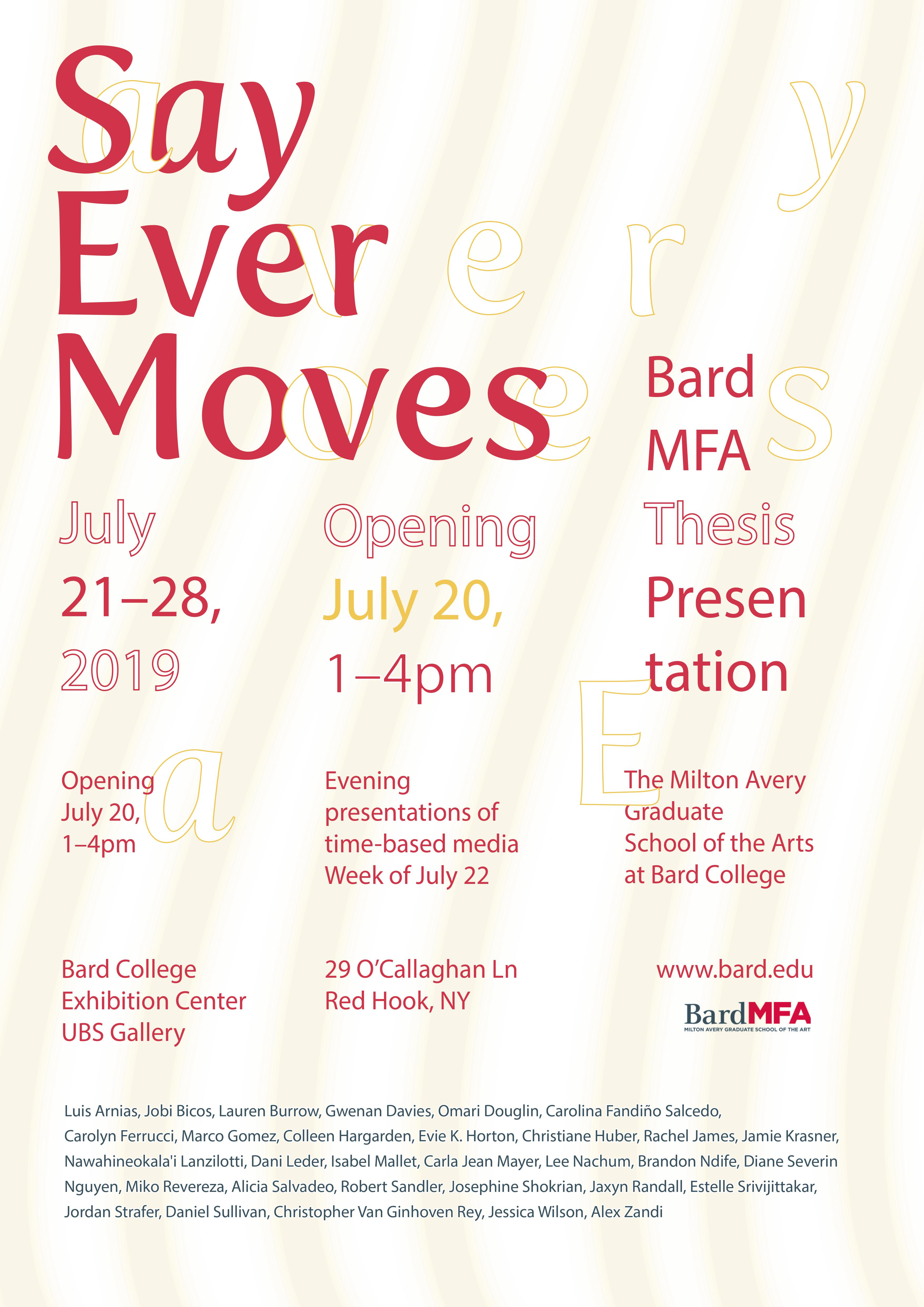 Bard Graduate Program News