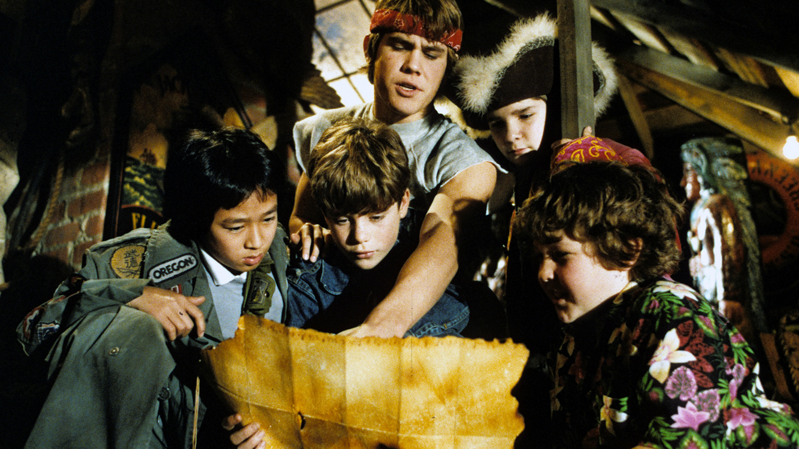 "[Outdoor Film Screening: The Goonies] ""The Goonies,"" 1985, ©Warner Brothers/Photofest"