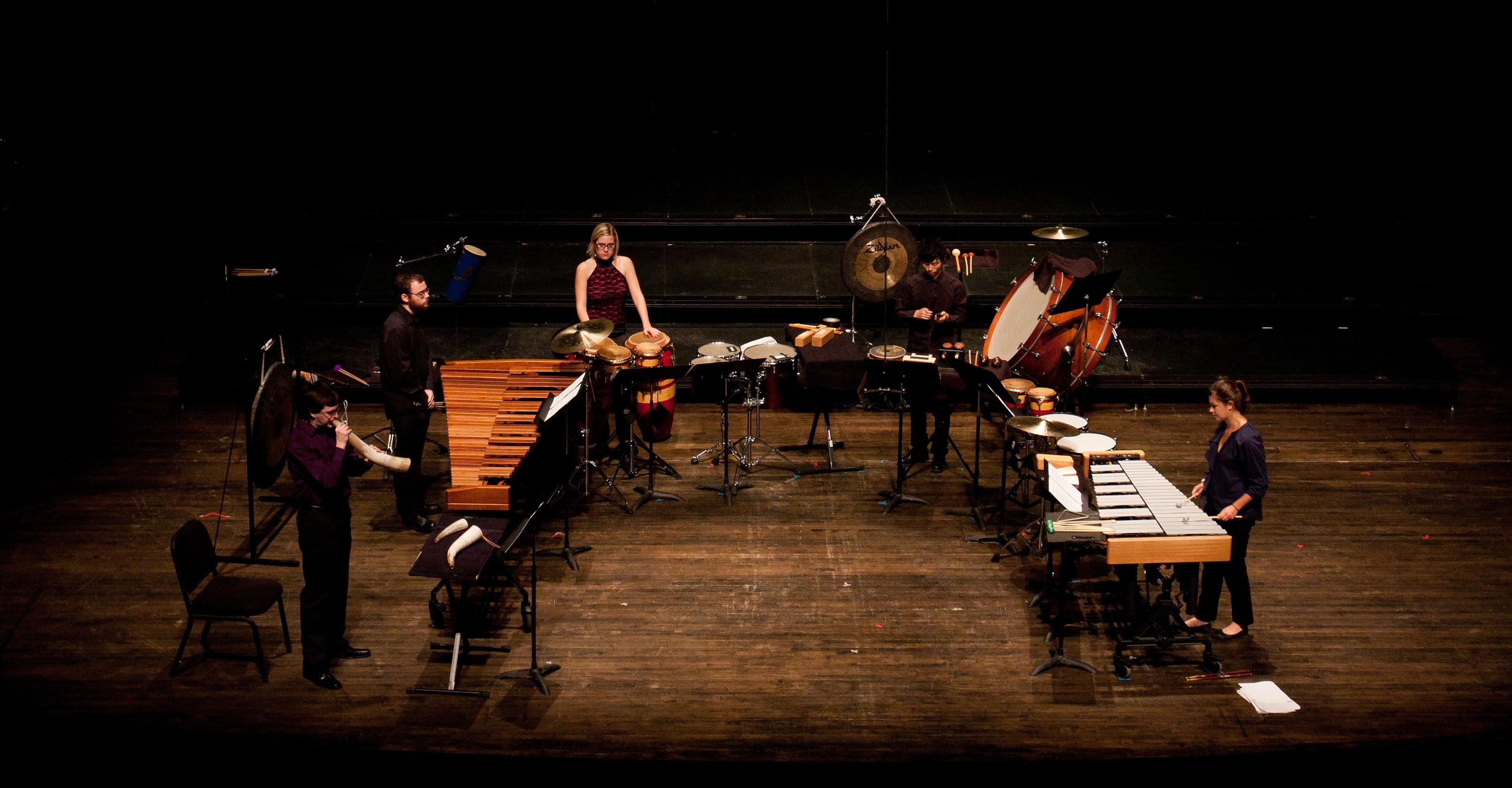 Conservatory Percussion Ensembles