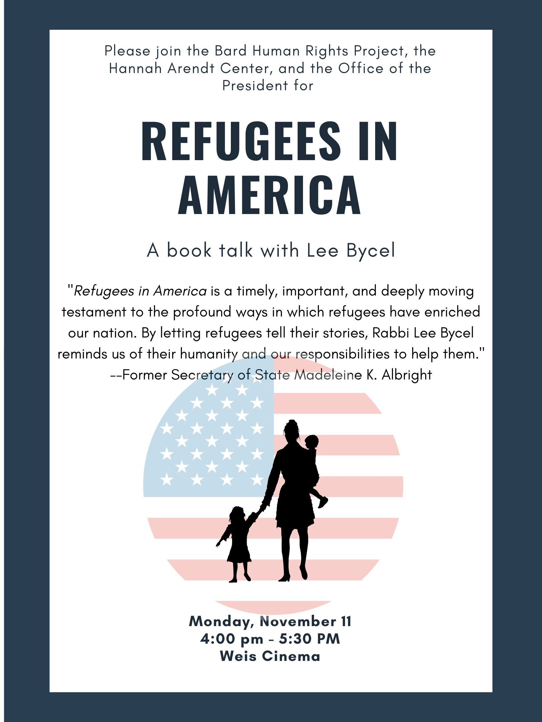 [Refugees in America]