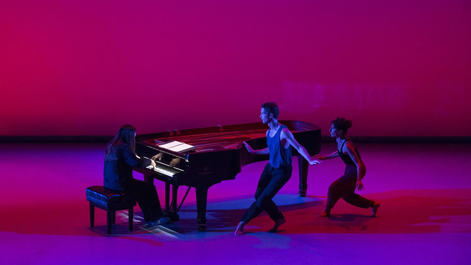 [New Work for Goldberg Variationsat The Joyce Theater] Photo by Marina Levitskaya