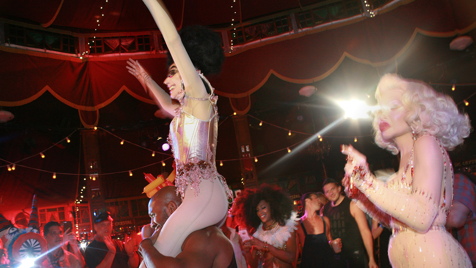 [Susanne Bartsch Presents Spiegeltent Follies] Photo by Brennan Cavanaugh