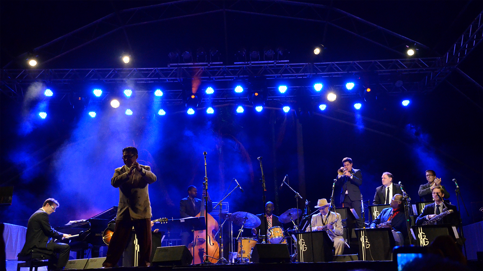 [Summertime Swingwith the George Gee Swing Orchestra] Photo courtesy of artist