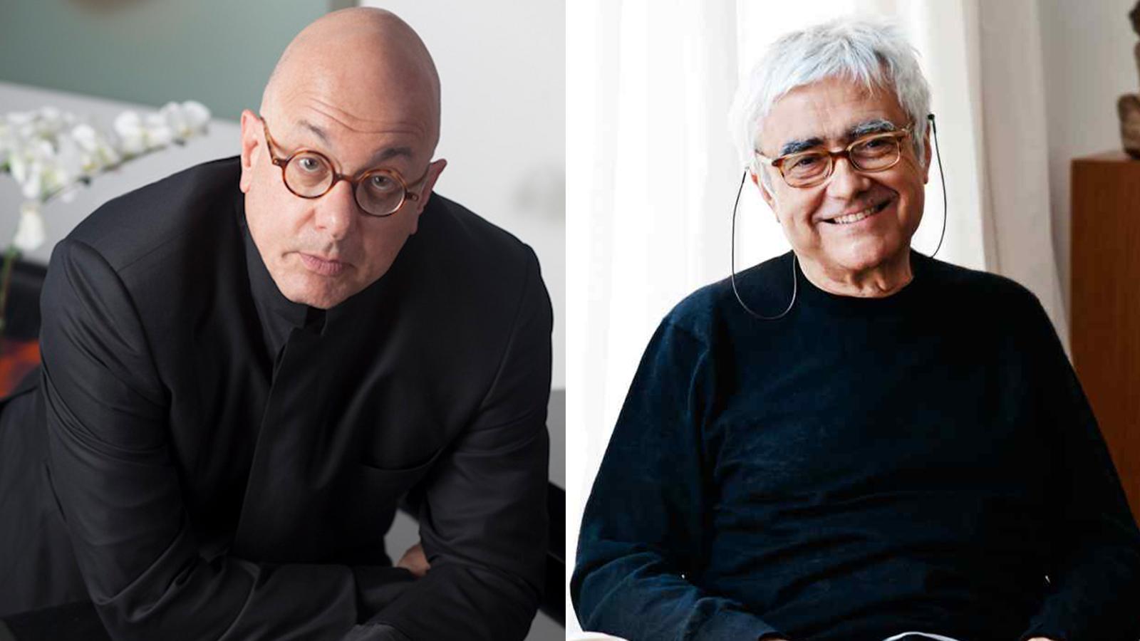 [Leon Botsteinin Conversation withRafael Viñoly] Leon Botstein by Ric Kallaher; Rafael Viñoly by Weston Wells
