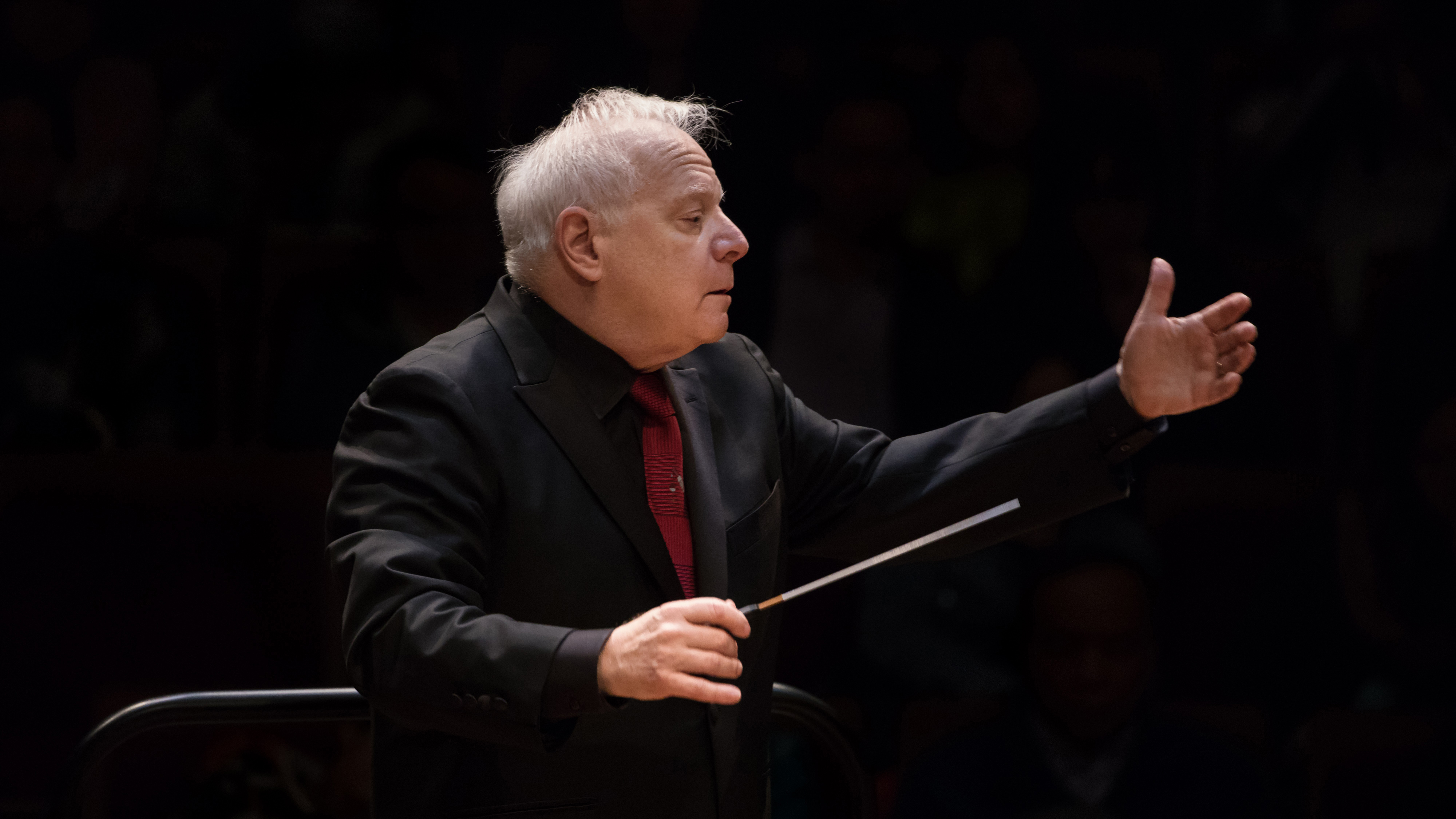 [Slatkin Conducts Brahmsiana] Leonard Slatkin by Lewel Li