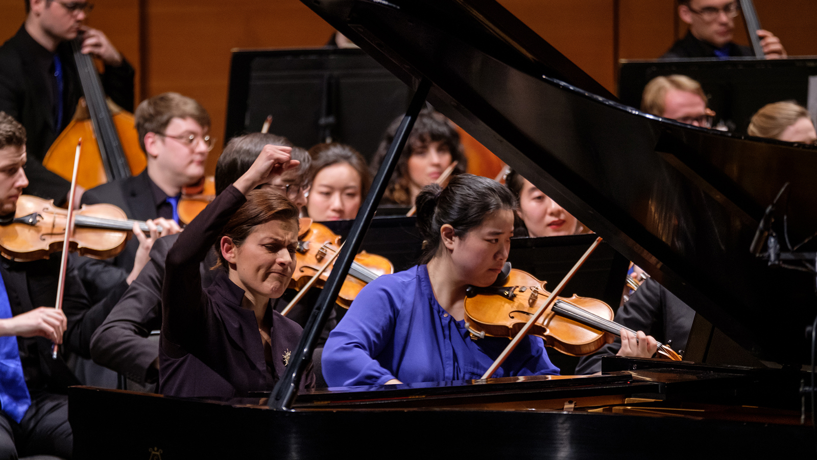 [Clara Schumann &Brahms' German Requiem] Photo by David DeNee