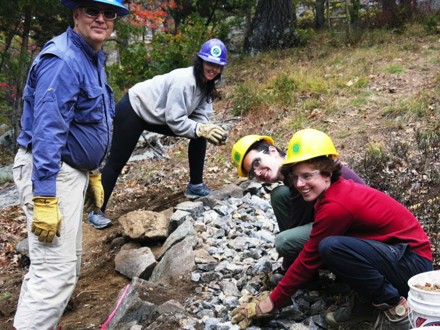 Bard Students Help Restore the Appalachian Trail 2015