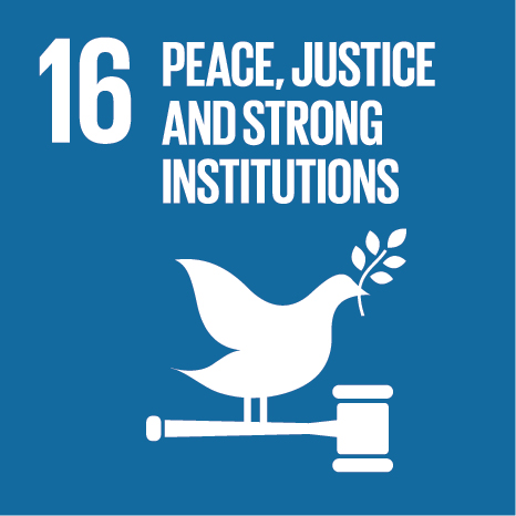 16. Peace, Justice, and Strong Institutions