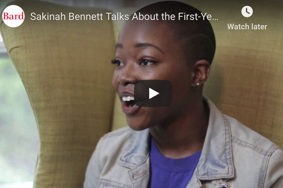 Image for Sakinah Bennett on the First Year