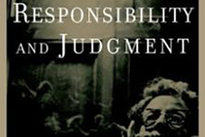 Image for Responsibility and Judgement (July 2019)***