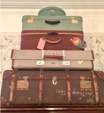 Eliot's Suitcases