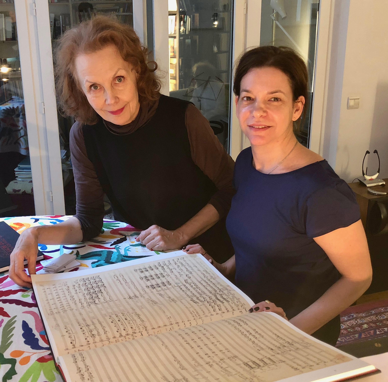 Kaija Saariaho and Pam Tanowitz