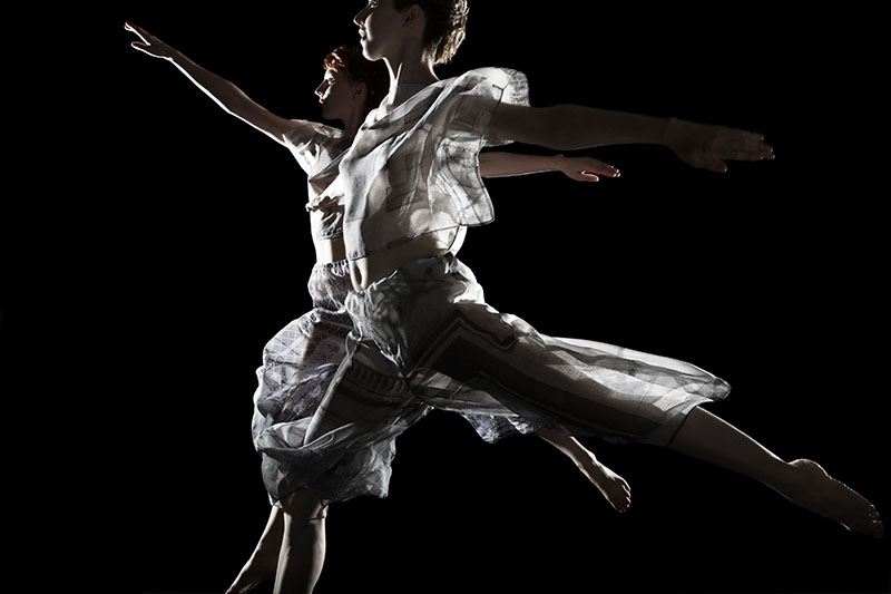 Trisha Brown Dance Company performs