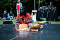 Souleymane Badolo&rsquo;s&nbsp;<em>Yimb&eacute;gr&eacute;</em>&nbsp;at Montgomery Place.&nbsp;September 29, 2018. Photo by Chris Kayden.