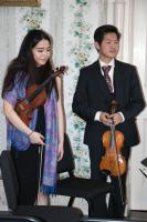 "Bard Conservatory students perform String Quintet in C Major, D 956, ""Two cellos"" by Franz Schubert. The concert was preceded by a lecture by Professor Gregory Moynahan titled ""The Political Culture of Schubert's Vienna: Metternich and Domestic Life."" March 10, 2018 at Montgomery Place."